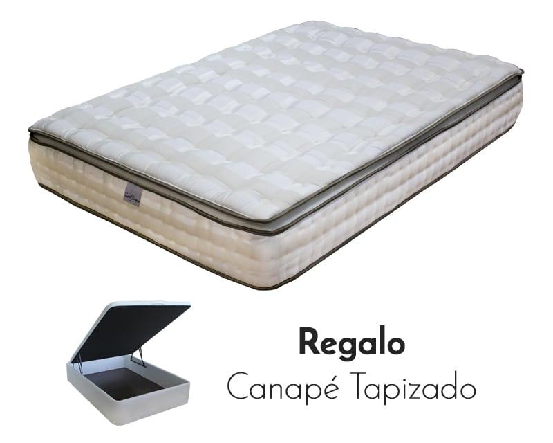 Colchon venecia mas canape tapizado sweet dreams for Canape para colchon viscoelastico